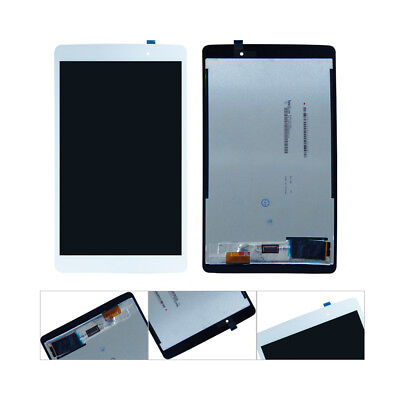 White For LG G Pad X 8.0 4G LTE T-Mobile LG-V521 LCD Touch Digitizer Assembly AA