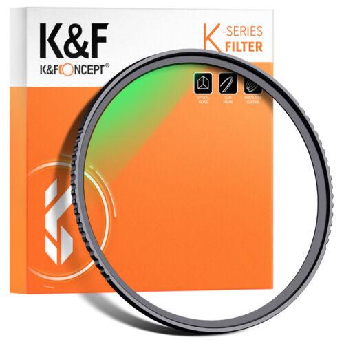 K&F Concept 77mm MC UV Protection Filter Slim Frame W/ Multi