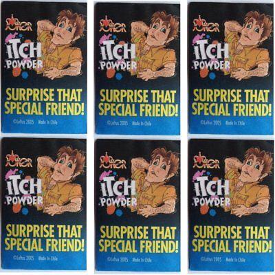 6 PACKS ITCHING ITCH POWDER -  Prank Joke Trick Gag