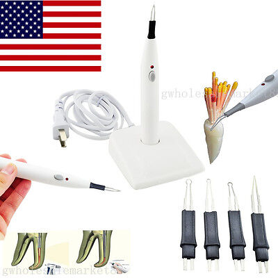 Usa Autoclaveable Dental Gutta Percha-points Teeth Tooth Gum Cutter With 4 Tips
