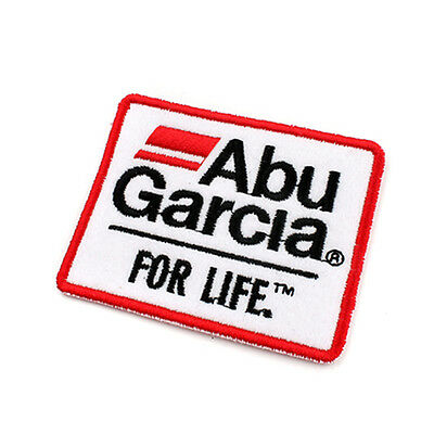 New Abu Garcia Logo Patch Emblem Clothes Cap Fishing Badge 7cm #J1