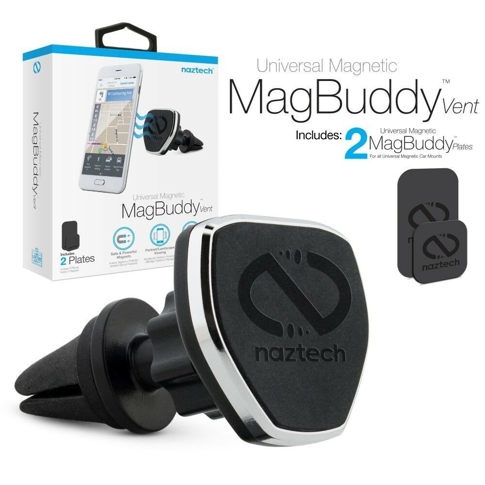 Naztech MagBuddy Vent Universal Magnetic Air Vent Car Mount
