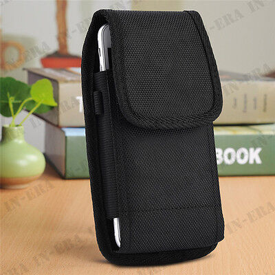 Belt Clip Vertical Holster Pouch Case Cover For Apple iPhone XS X 6 6S 7 8 Plus ()