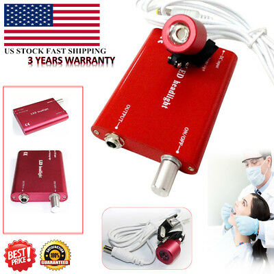 Dental Led Head Lamp Head Light For Dental Surgical Loupes With Battery Light Us