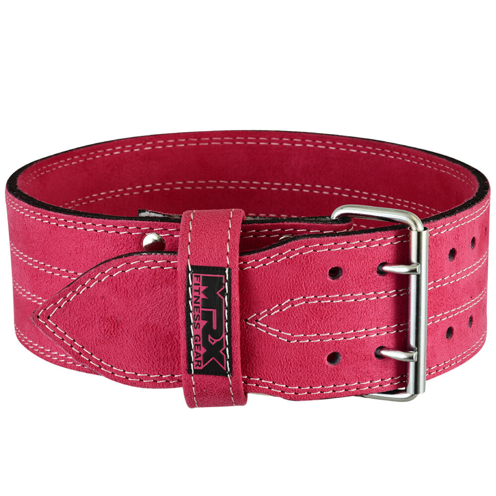 Belt Lifts: Womens Weight Lifting Belt Leather Gym Fitness Gear Ladies