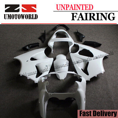 Unpainted Fairing Kit for Kawasaki Ninja ZX6R 2000-2002 Injection Bodywork Set