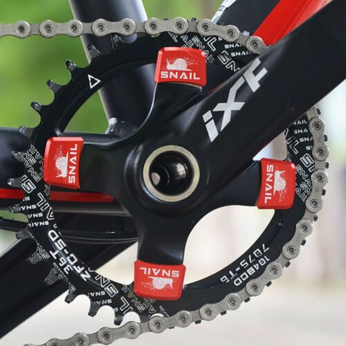 SNAIL Aluminum Alloy Chainring Bolts MTB Bike Square Crankset Chainwheel Screws