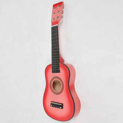 """Kids Acoustic Guitar 23"""" with Pick String Practice Toy  Gift for Beginners Child"""