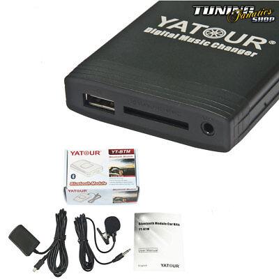 Bluetooth USB MP3 Cambiador De CD Manos Libres para Renault Radio Carminat