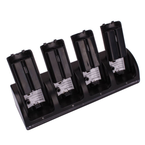 5x Charger Dock Stand + 20x 2800mah Battery For Wii Remot...