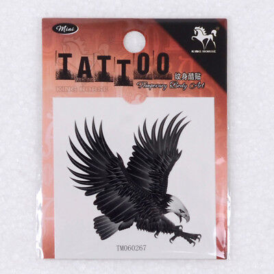 Eagle 3D Temporary Tattoo Fashion Body Arm Art Tattoo Waterproof Tattoo Sticker for sale  Shipping to United States