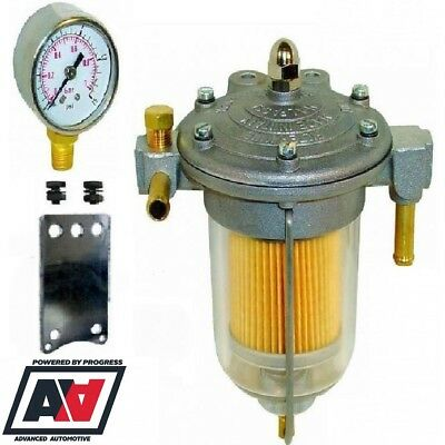 Malpassi Filter King Fuel Pressure Regulator & Setup Gauge ADV