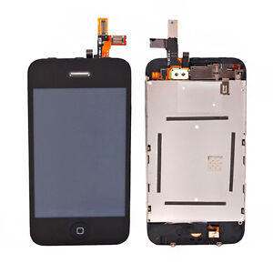 Replace Black LCD Display Touch Screen Digitizer Glass Assembly for iPhone 3 3GS