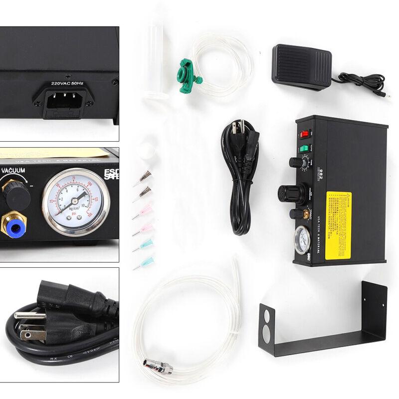 Semi-Automatic Glue Dispenser Machine Solder Paste Liquid Controller Dropper