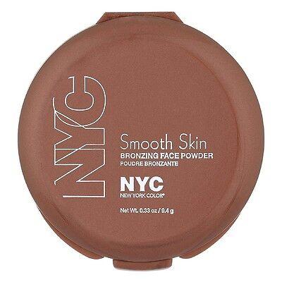 New York Color Smooth Skin Bronzing Face Powder, Sunny [720A] 0.33 oz