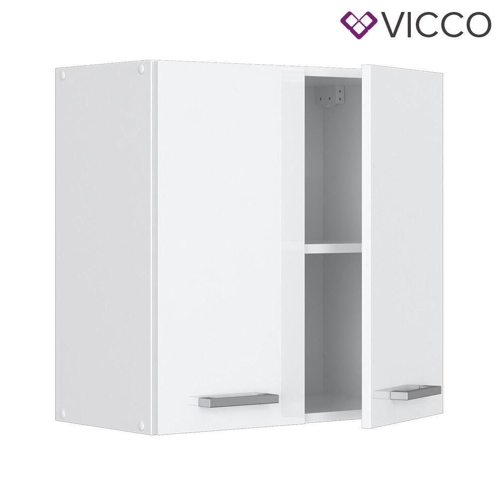 VICCO Küchenschrank Hängeschrank Unterschrank Küchenzeile R-Line Hängeschrank 60 cm weiß
