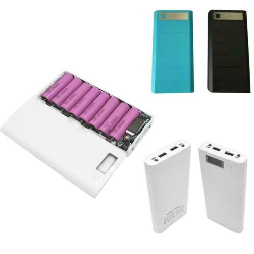 Marsnaska Draagbare USB Power Bank Shell Doos DIY USB