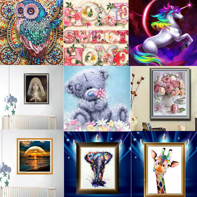 DIY 5D Diamond Painting Embroidery Cross Craft Stitch Pictures Arts Mural Decor