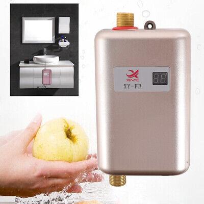 Mini Eléctrico Calentador de agua instantáneo sin tanque baño Ducha Calderas