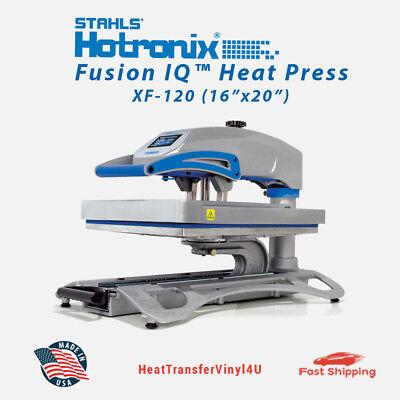 Stahls Hotronix Fusion Iq Heat Press Xf-120 16 X 20