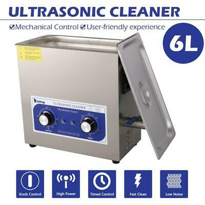 6l Capacity Tank For Professional Cleaning Ultrasonic Cleaner Stainless Steel