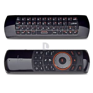 Rii K25 2.4Ghz Wireless Keyboard+ Flying Air Mouse+IR Remote for Android TV Box
