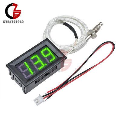 Digital Xh-b310 -30c-800c Gauge Green Thermometer K-type M6 Thermocouple