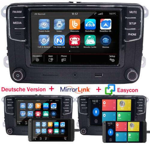Autoradio RCD330 Deutsch MirrorLink EasyLink BT USB Für VW Golf Passat Polo EOS