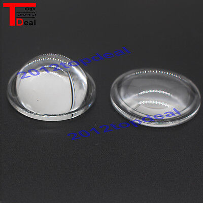 44mm Led Lens Light Reflector Collimator Wide Angle For 10w 20w 30w 50w 100w