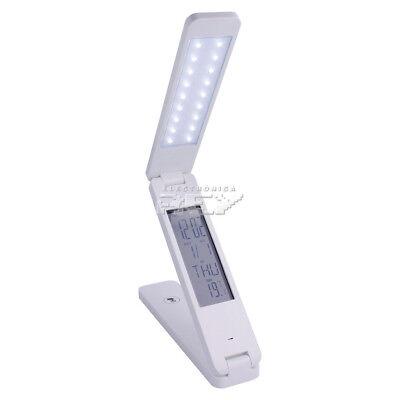 Lámpara LED Mesa Plegable Reloj Despertador Calendario Entrega 48/72h h92