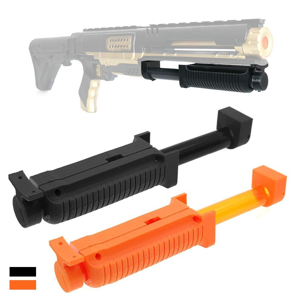 pump grip kit shot gun style 3d