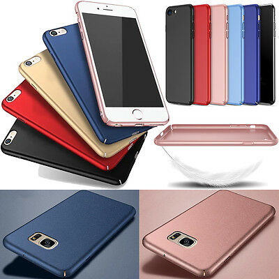 Glossy Hardback Case (2017 Ultra Thin Slim Hard Back Case Cover Frosting Matte Phone Shell Glossy New)