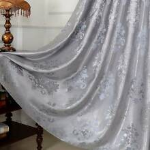 BLOCKOUT EYELET CURTAINS BLOCKOUT CURTAIN Silky Textured QUALITY Bradbury Campbelltown Area Preview
