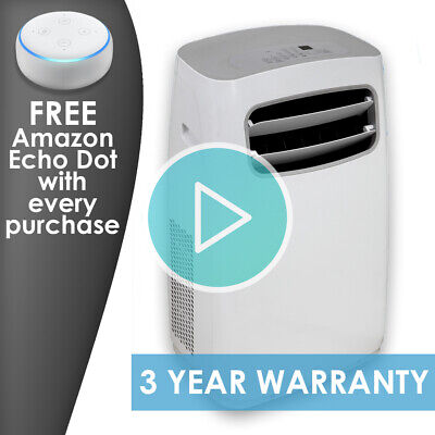 Comfee Portable Air Conditioning Unit 12000 BTU (3.5kW) FREE Amazon Echo Dot