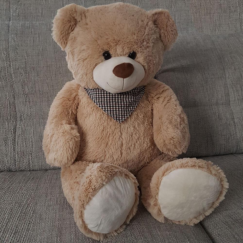 Teddy Teddybär Plüschteddy Bär Kuscheltier ca.1 Meter Plüschtier Plüschbär XXL  Beige