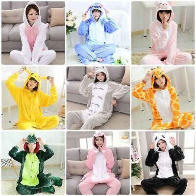 Kids Anime Costumes (Animal Anime Pajamas Kigurumi Cosplay Sleepwear Adult Kid Costumes Jumpsuit)