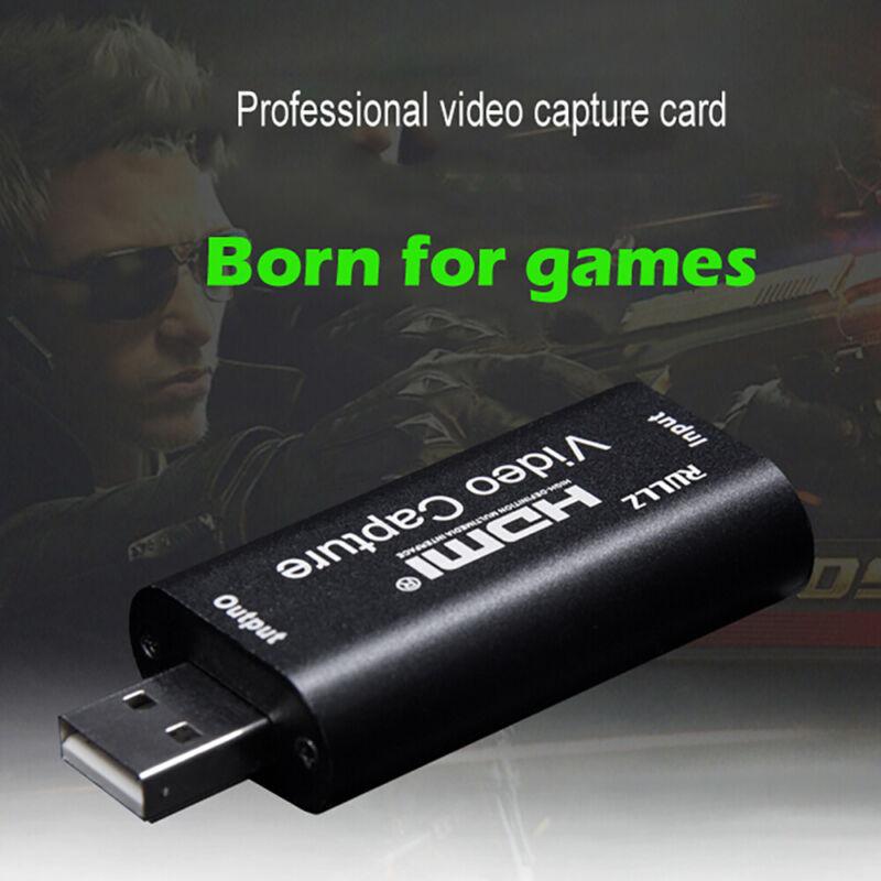 Mini video capture card USB 2.0 HDMI video capture card reco
