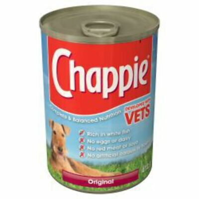 Chappie Can Original Wet Dog Food 415g x 12
