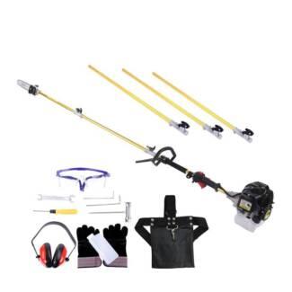 AUS FREE DEL-65CC 2kw 2-stroke E-start Garden Tool Pole Chainsaw