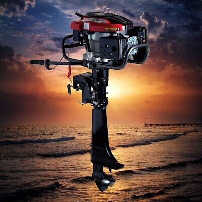 Hangkai 7hp4-stroke Outboard Motor 196cc Fishing Boat Engine Air-cooling System