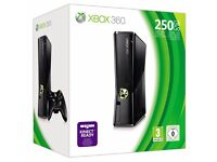 XBOX 360 250GB Slim with One Controller and Box
