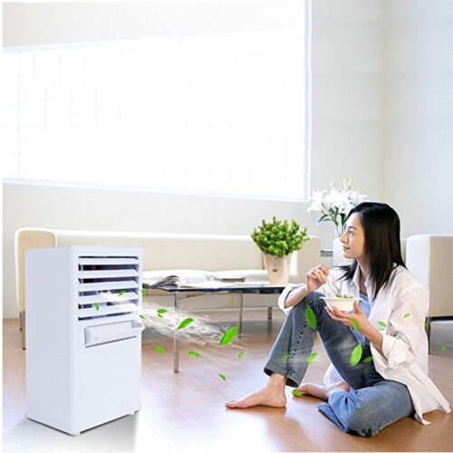 US Mini Desktop Air Conditioning Fan Air Evaporation Cooling