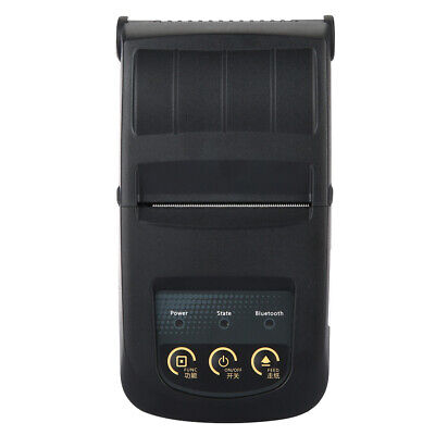 Thermal Printer Portable Bluetooth Support Smart Phone App Control - Black