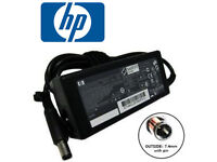 HP 18.5v ROUND PIN ORIGINAL CHARGER ADAPTER+ CABLE