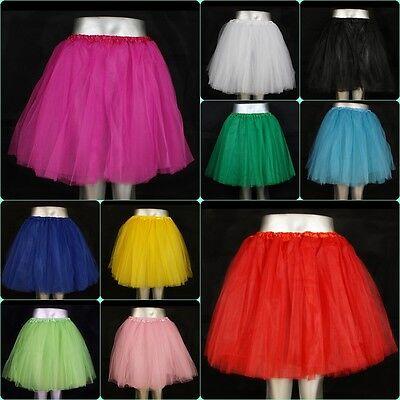 llrock Ballettkleid  5 Lagen S-2XL Party Petticoat Rock (Party Tutus)