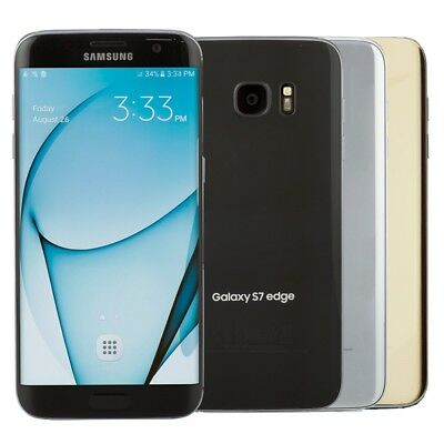 Samsung Galaxy S7 edge Smartphone AT&T T-Mobile Sprint GSM Unlocked or Verizon