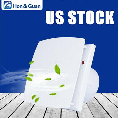 """Hon&Guan 4"""" 100-120V Extractor Fan Kitchen Wall Window Ceiling Ventilation Fan"""