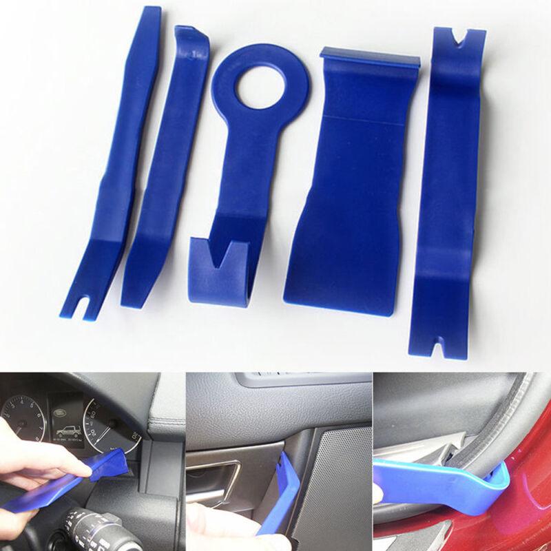 NEW 5 Piece Car Door Plastic Trim Panel Dash Installation Removal Pry Tool Kit