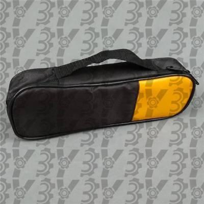 Double Zipper Carry Soft Casebag Use For Clamp Meter Fluke T5-1000 T5-600 New