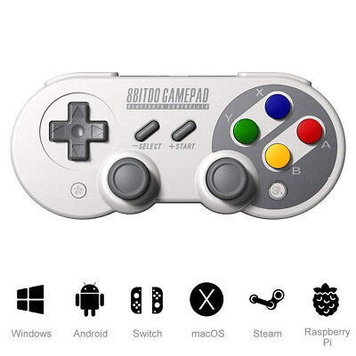 8Bitdo SF30 PRO Wireless Bluetooth GamePad Controller for Android/ PC/Switch